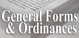 General Forms and Ordinances